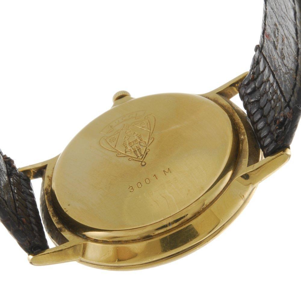 GUCCI - a gentleman's 3001M wrist watch. - 2