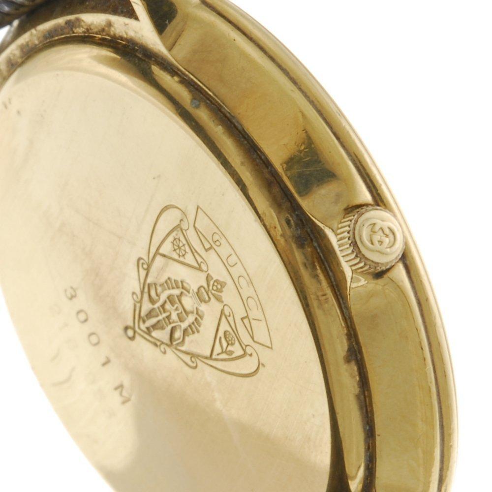 GUCCI - a gentleman's 3001M wrist watch. - 3