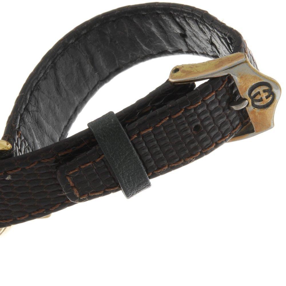 GUCCI - a gentleman's 3001M wrist watch. - 4
