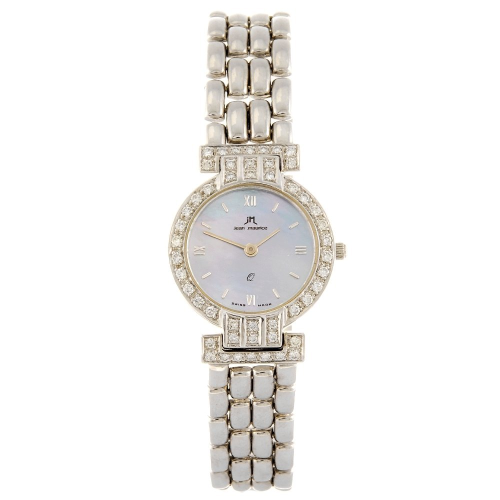 JEAN MAURICE - a lady's bracelet watch.