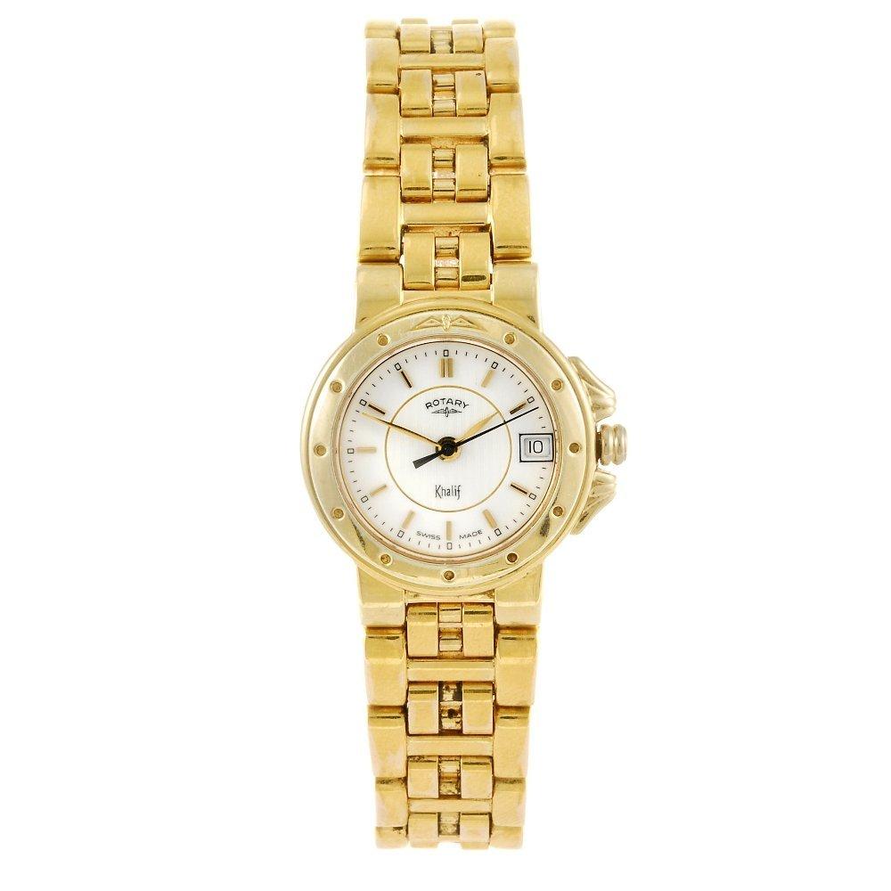 ROTARY - a lady's Khalif bracelet watch.