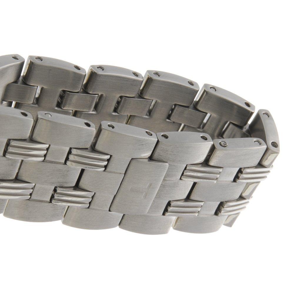 TISSOT - a gentleman's Ballade bracelet watch. - 4