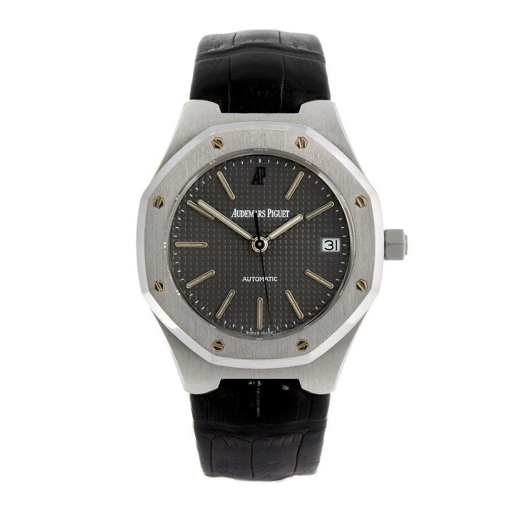 AUDEMARS PIGUET - a gentleman's Royal Oak wrist watch.