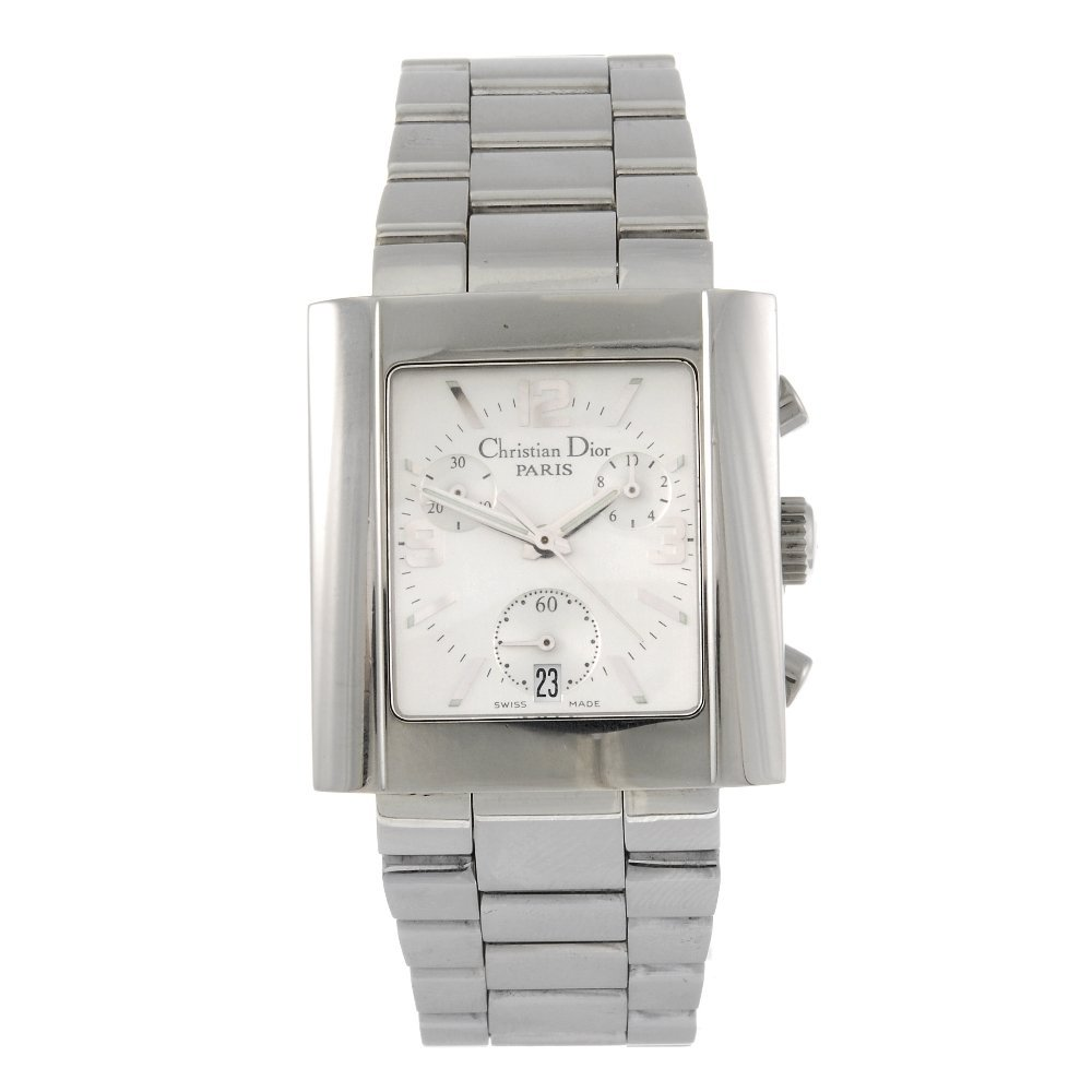 DIOR - a gentleman's Riva chronograph bracelet watch.