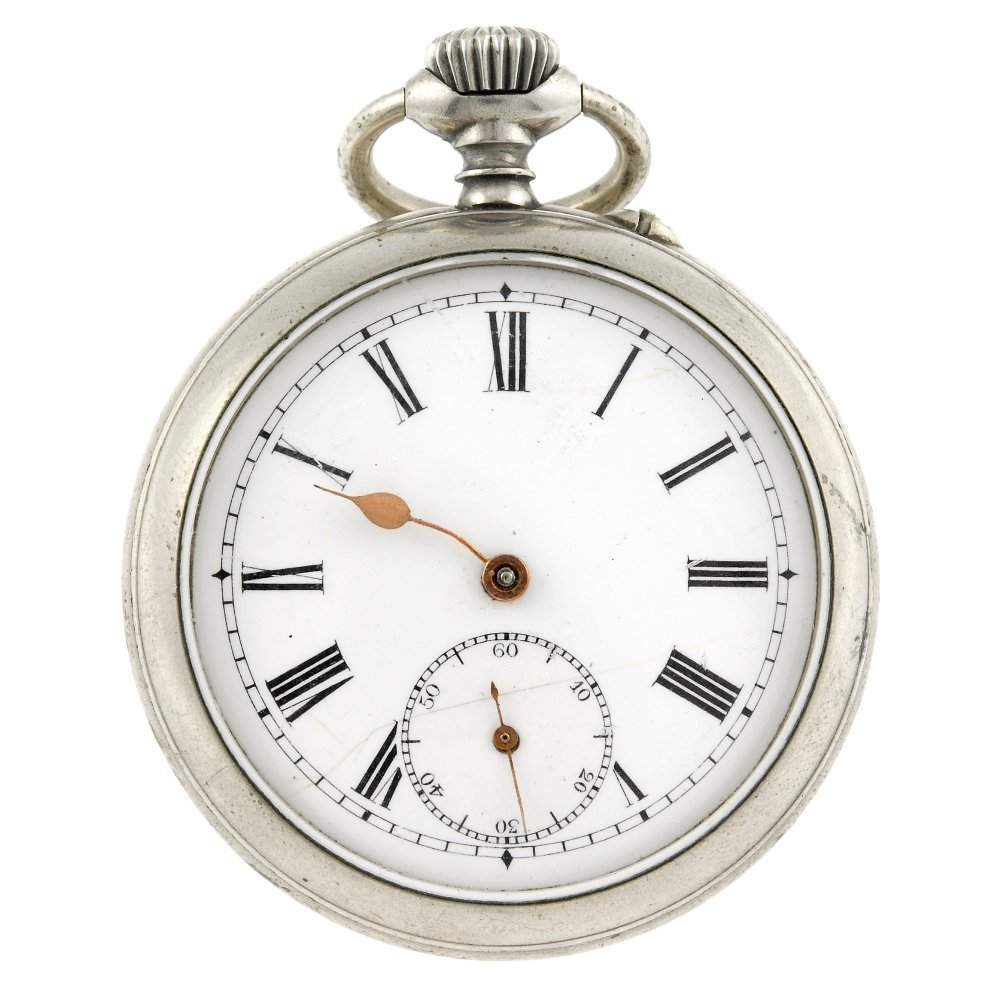 An open face gaming pocket watch.