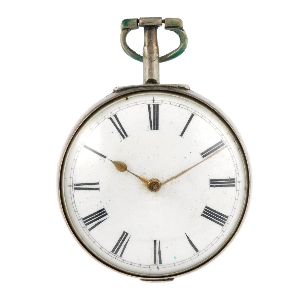 An open face pair case pocket watch by Stephen