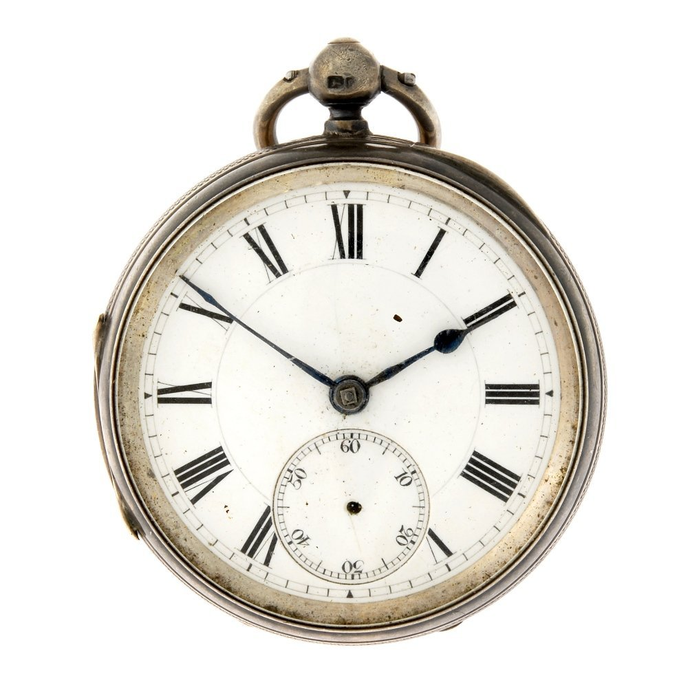 An open face pocket watch by Field & Co. with another