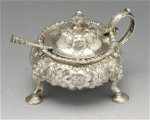 An early Victorian Scottish silver heavy mustard