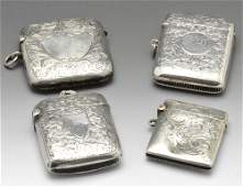 Five assorted vesta cases mainly early 20th century