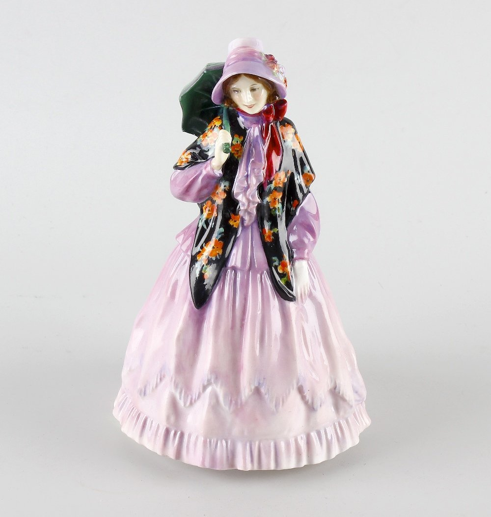 A Royal Doulton figure, 'Clarissa'.