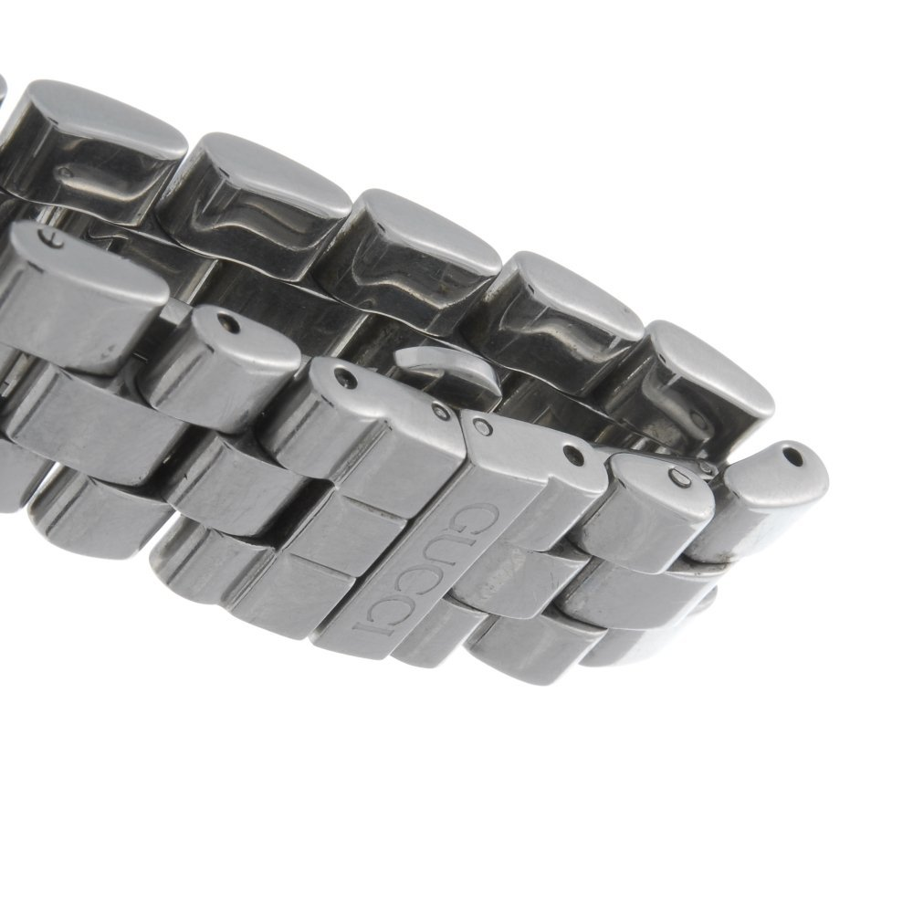 GUCCI - a lady's stainless steel 3600L bracelet watch. - 4