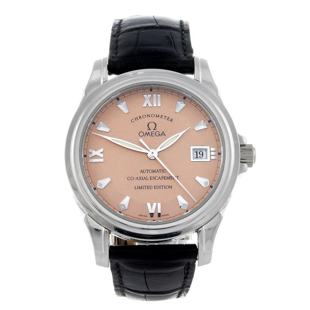 OMEGA - a limited edition gentleman's platinum De Ville