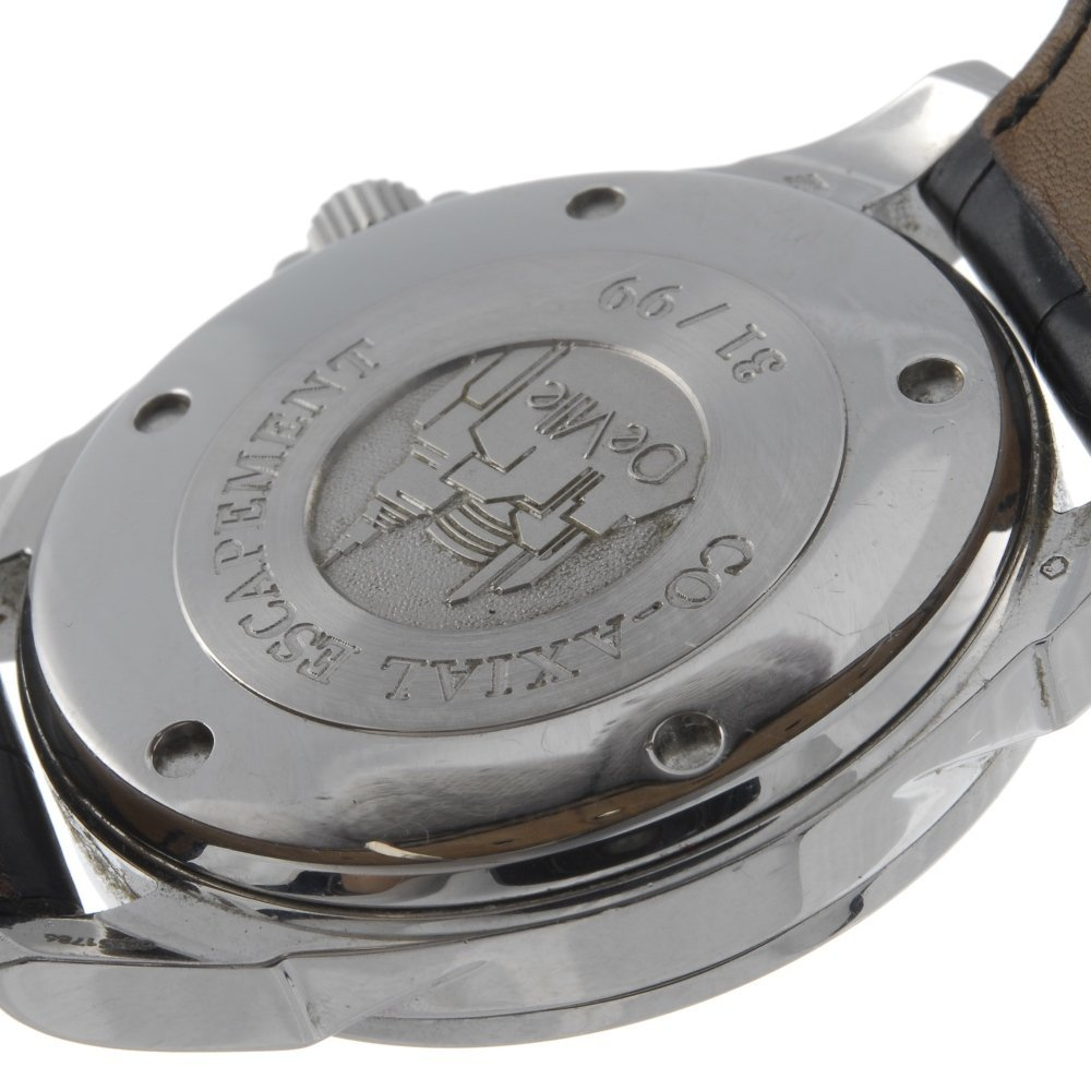 OMEGA - a limited edition gentleman's platinum De Ville - 2