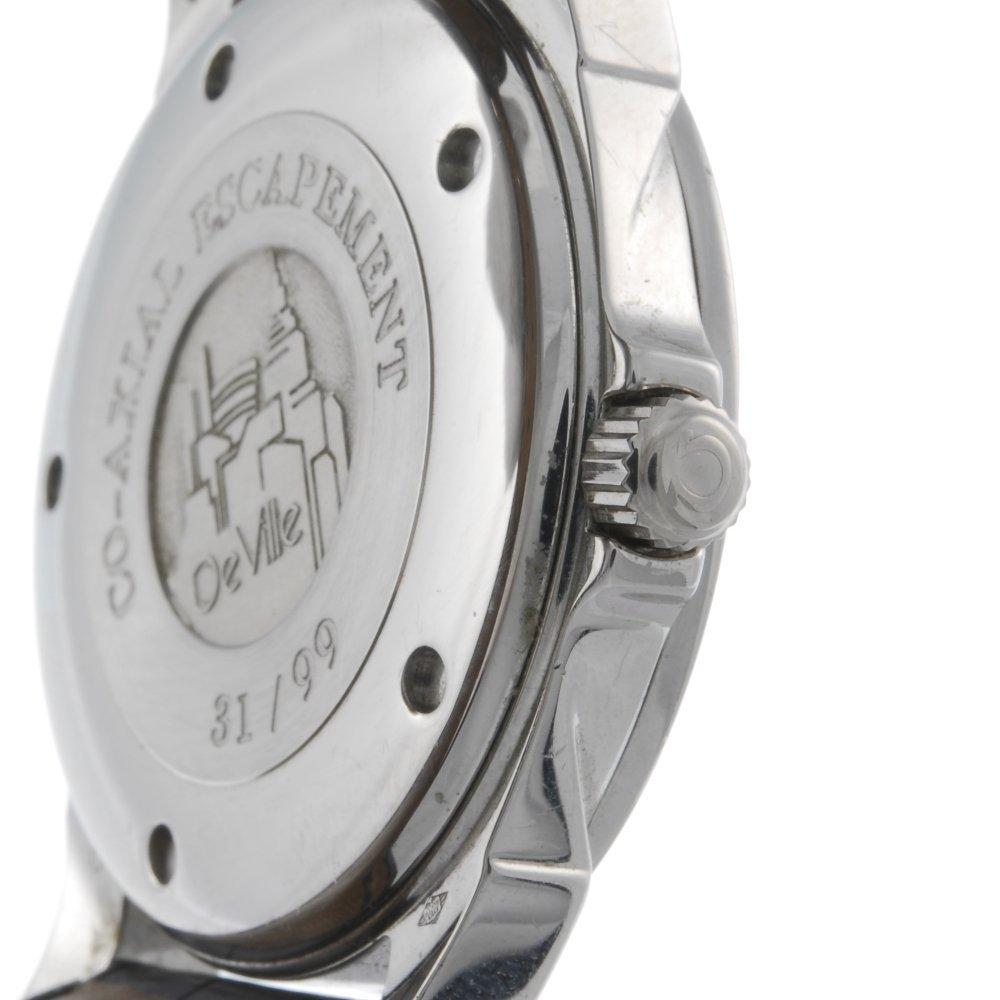 OMEGA - a limited edition gentleman's platinum De Ville - 3