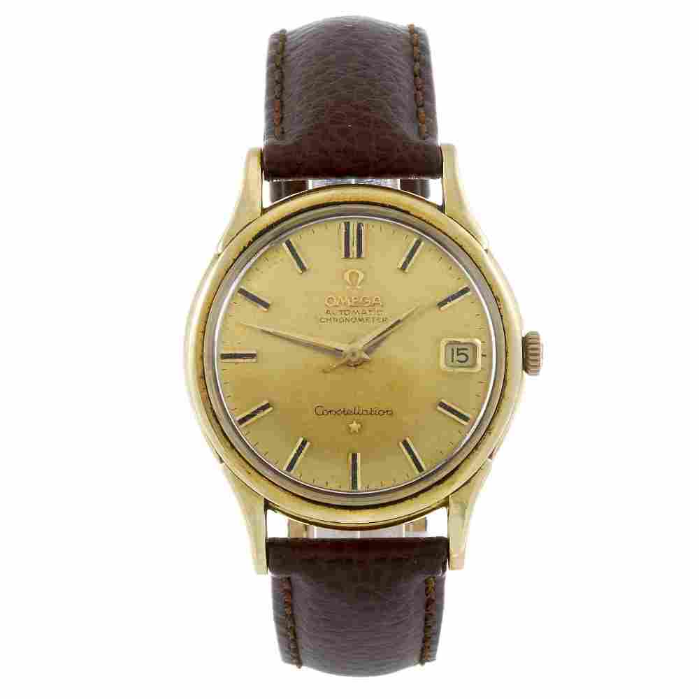 OMEGA - a gentleman's yellow metal Constellation wrist