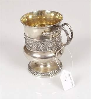 2007: A George III christening mug of baluste