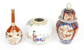 A small selection of assorted Japanese porcelain