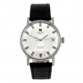 Tissot - A Gentleman's Stainless Steel Seastar Wrist