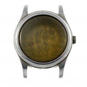 Rolex - A Gentleman's Stainless Steel Watch Case.