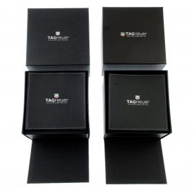 A Selection Of Tag Heuer Watch Boxes. Approximately 20.
