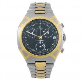 Omega - A Gentleman's Seamaster Polaris Chronograph