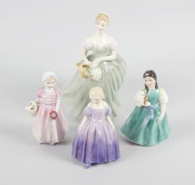 A Group Of Four Royal Doulton Figures, Comprising