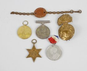 A Group Of World War I And Ii Militariato Include: