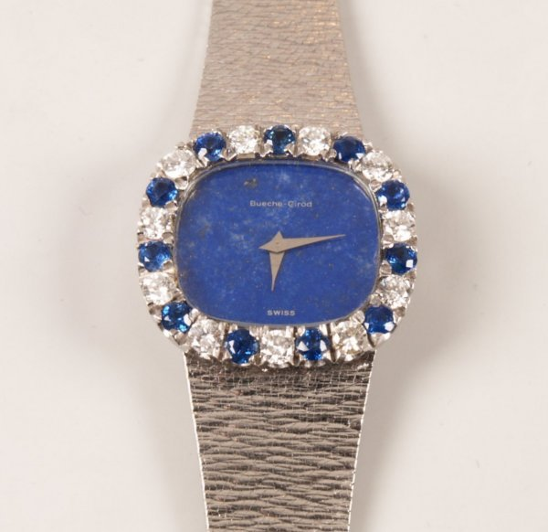 1009: Bueche Girod - 18ct white gold lady's dress watch