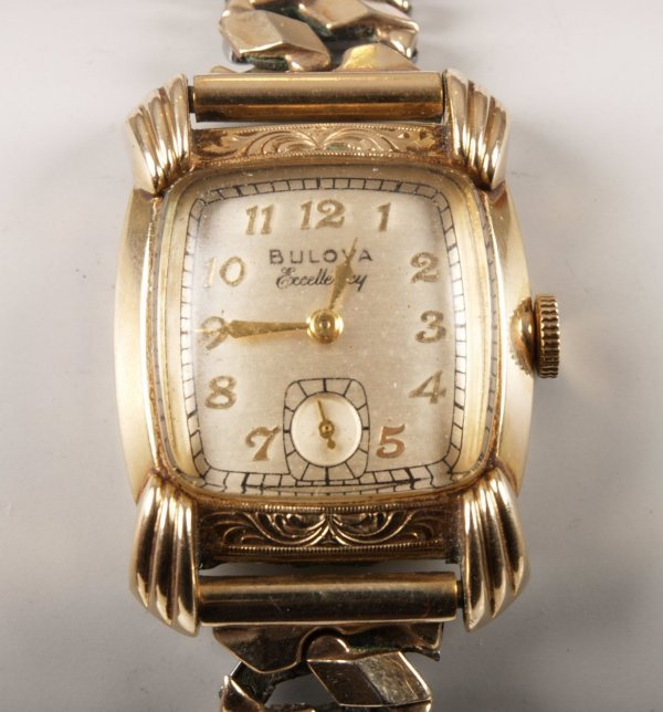1011: BULOVA - a gentleman's 10K gold filled watch the