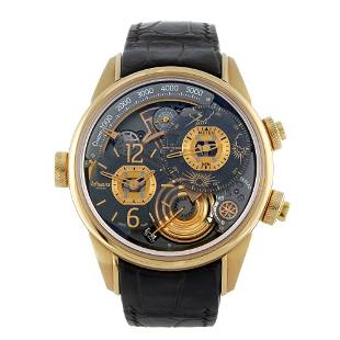 BREVA - a limited edition gentleman's Genie 01 wrist