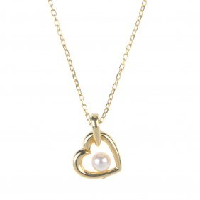 Mikimoto - A Cultured Pearl Necklace. The Cultured