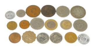 British coinage mostly predecimal base some silver