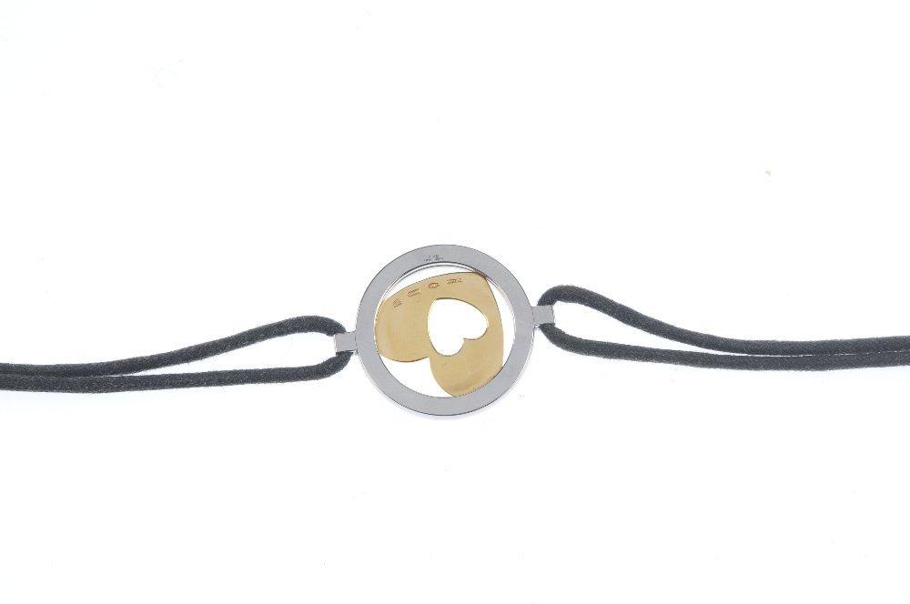 BULGARI - a bracelet. Of bi-colour design, the openwork - 2
