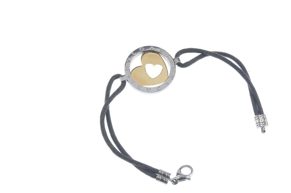 BULGARI - a bracelet. Of bi-colour design, the openwork - 3