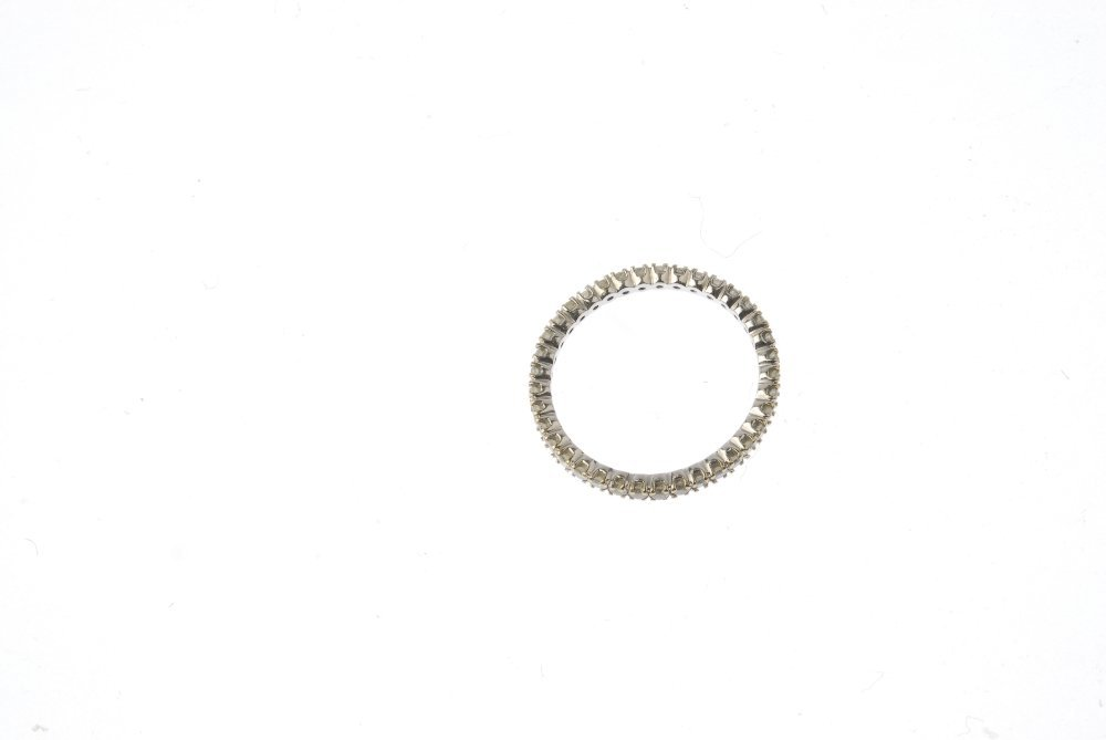 A diamond full-circle eternity ring. Designed as a - 2