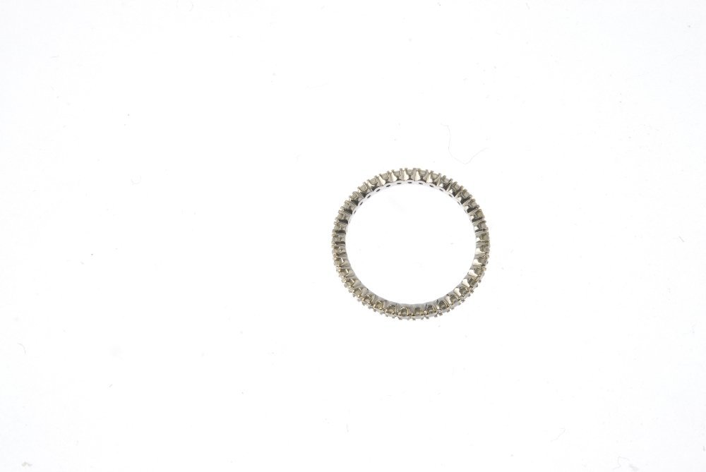 A diamond full-circle eternity ring. Designed as a - 3