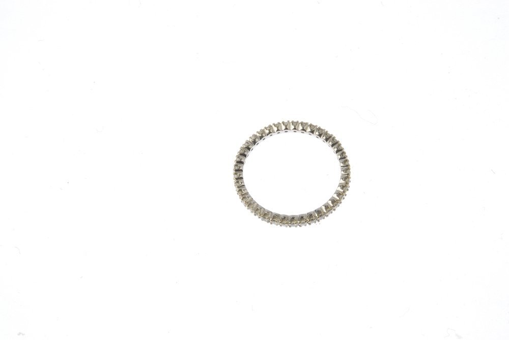 A diamond full-circle eternity ring. Designed as a - 4