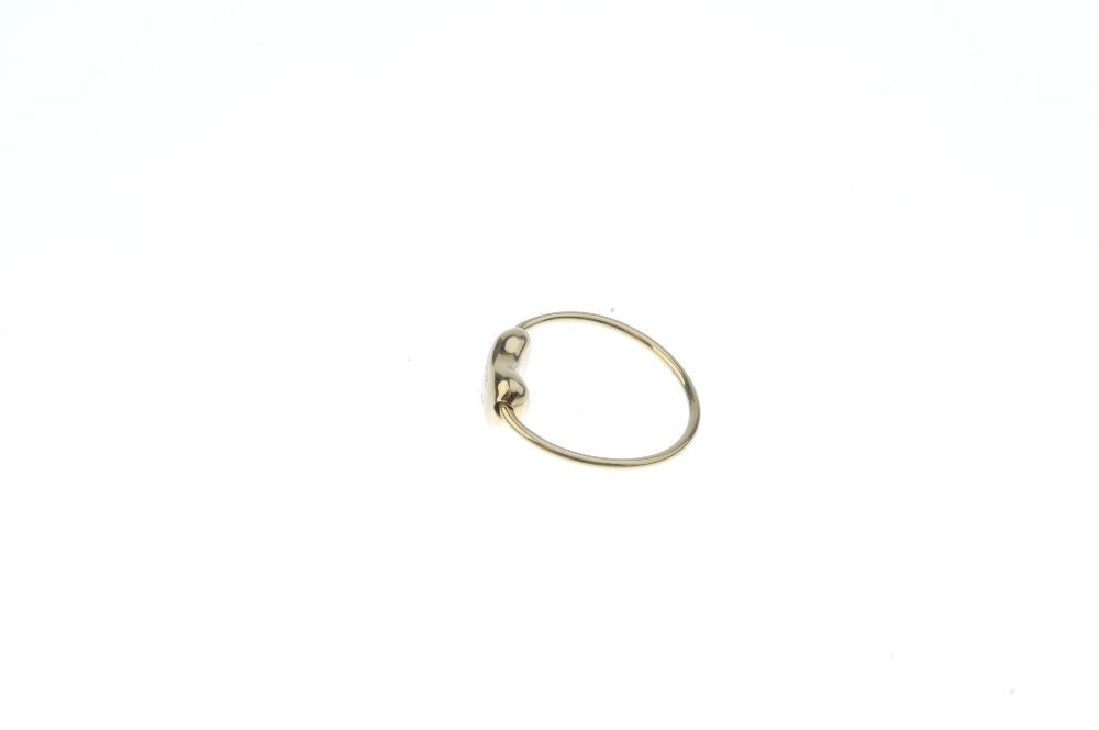 TIFFANY & CO. - a 'bean' ring. The bean, with signature - 2