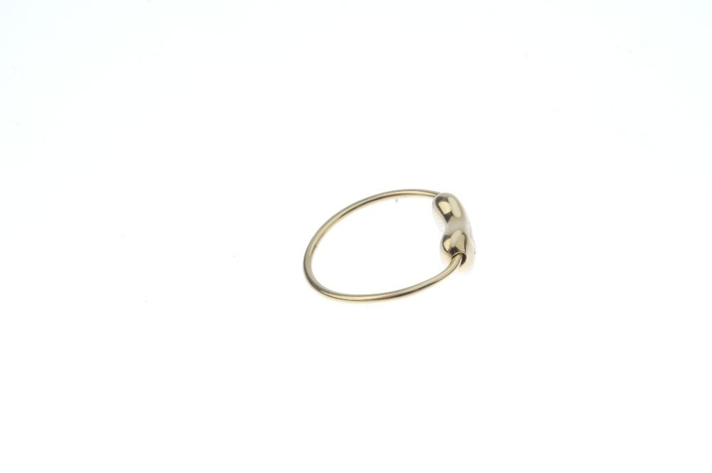 TIFFANY & CO. - a 'bean' ring. The bean, with signature - 4