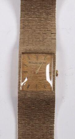 1011: BUECHE - GIROD - gentleman's 1970's 9ct gold manu