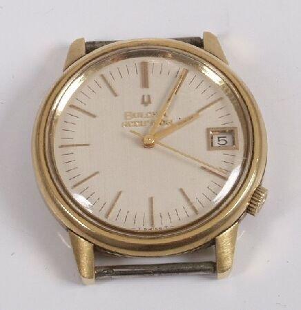 1017: BULOVA - gentleman's Accutron wristwatch head, th