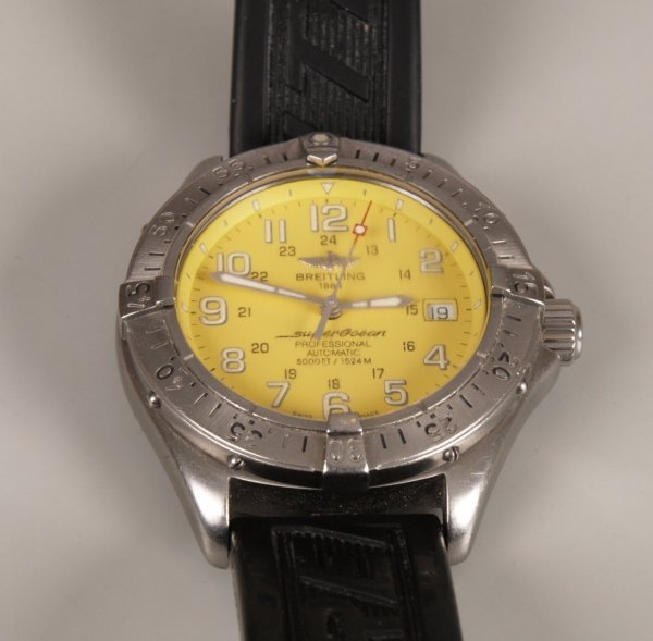 2005: BREITLING - a gentleman's stainless steel Super O