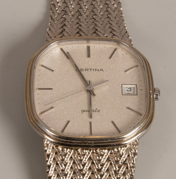 2022: CERTINA - a gentleman's 18ct white gold watch the