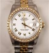 2152: ROLEX - a gentleman's mid size Oyster Perpetual D