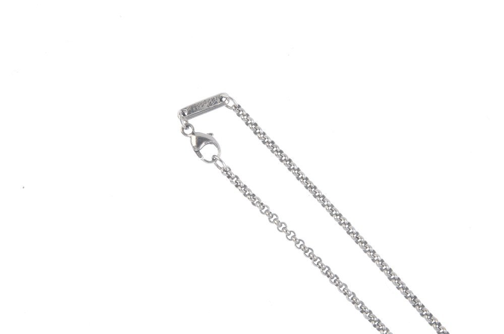 CHOPARD - a 'Happy Diamonds' pendant. The free-moving - 2