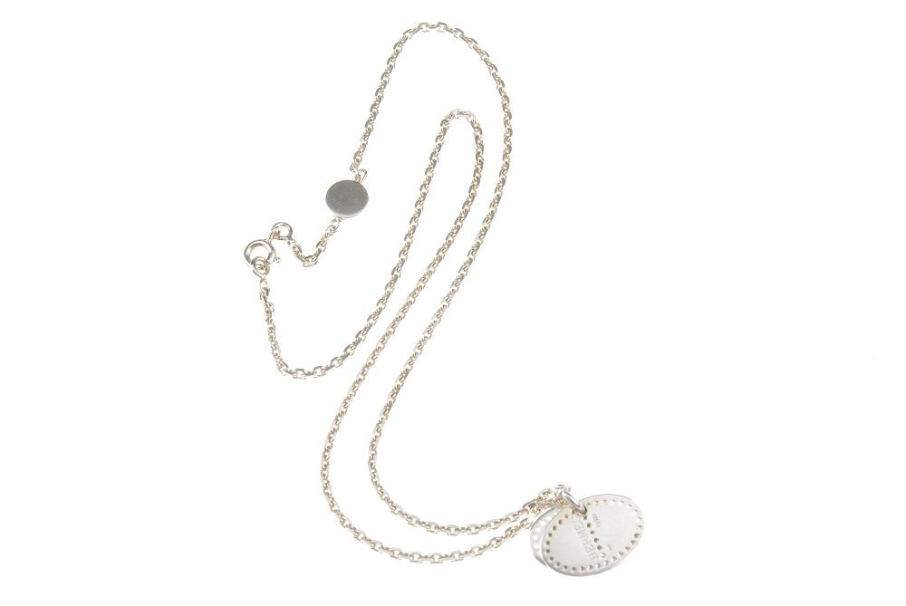 HERMES - an Ellipse necklace. The belcher-link chain - 4