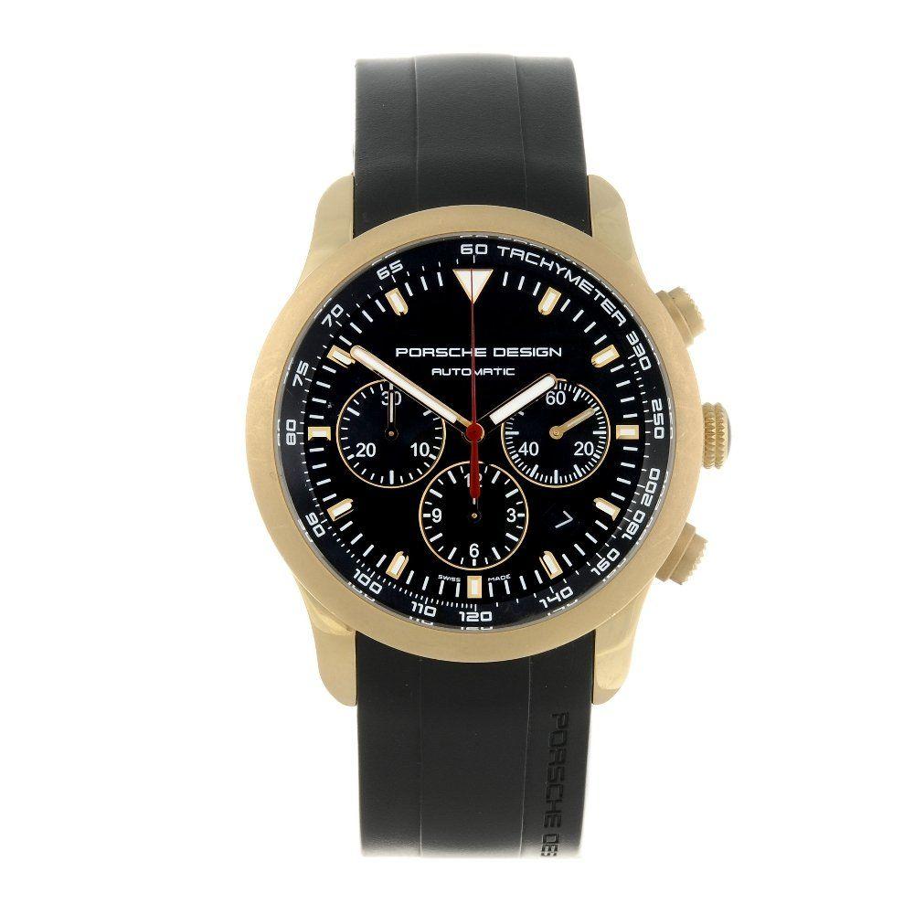 PORSCHE DESIGN - a gentleman's Dashboard chronograph