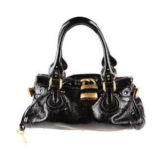 08ce42b4cff Featuring CHLOE - a patent leather Paddington handbag. Featuring