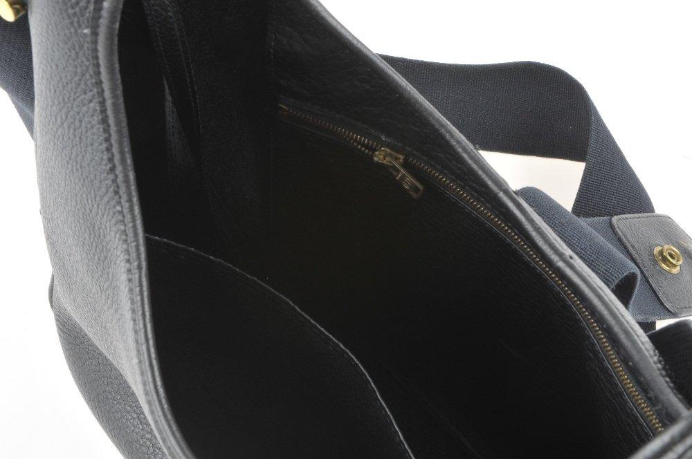 HERMES - a Sako handbag. Designed with a grained black - 3
