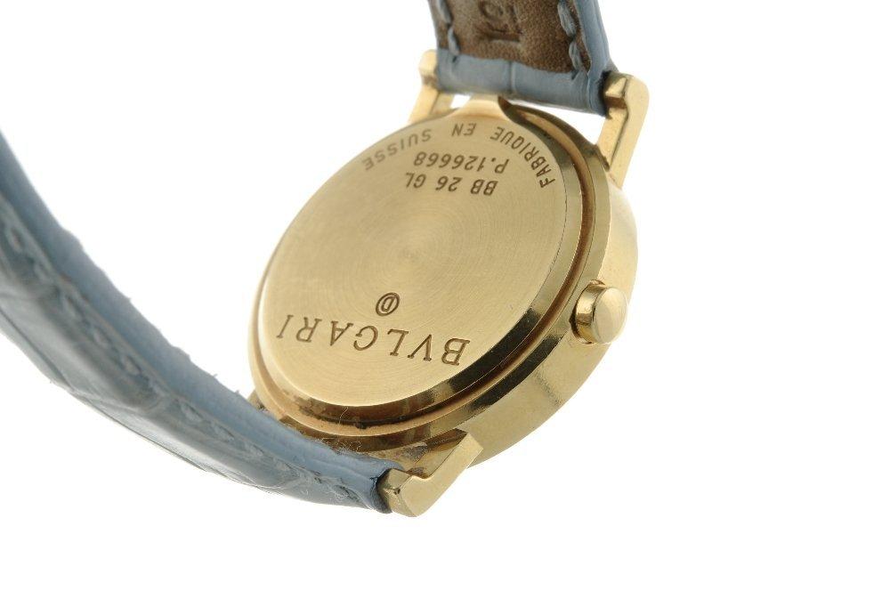 BULGARI - a lady's Bulgari wrist watch. 18ct yellow - 3